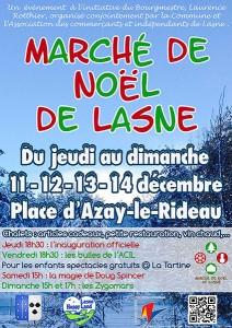 Marché de décembre à Lasne