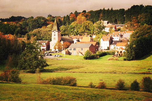 Lasne village